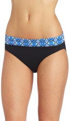 Jantzen Women's Foulard Midwaist Swimsuit Bottom