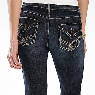JCPenney a.n.a® Thick-Stitch Bootcut Jeans