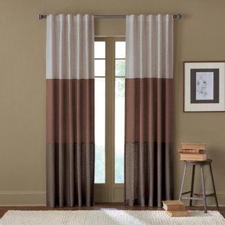 Bed Bath & Beyond Sirocco Rod Pocket/Back Tab Window Curtain Panels