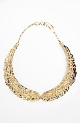 Nordstrom Metal Haven by Kendall & Kylie Wing Necklace (Juniors Exclusive)