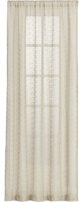 Crate & Barrel Marche Sheer 50x108 Curtain Panel