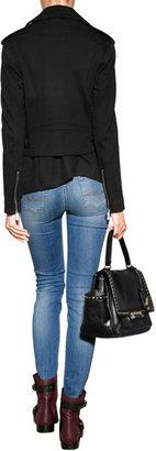 Ralph Lauren Black Label Cotton Jacket in Black