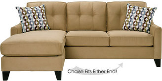Cindy Crawford Cindy Crawford Home Madison Place Peat 2 Pc Sleeper Sectional