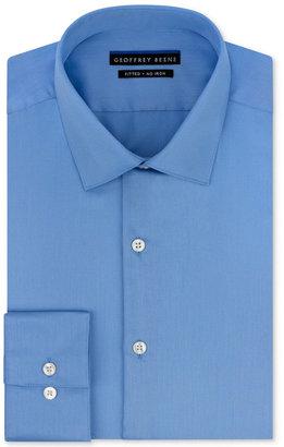 Geoffrey Beene Men's Fitted No-Iron Stretch Sateen Dress Shirt $55 thestylecure.com