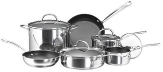 Farberware Millennium Polished Stainless Steel 10 Piece Cookware Set