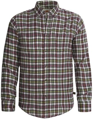 @Model.CurrentBrand.Name Grizzly Clark Plaid Shirt - Flannel, Long Sleeve (For Men)