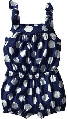 Old Navy Bow-Tie Jersey Rompers for Baby