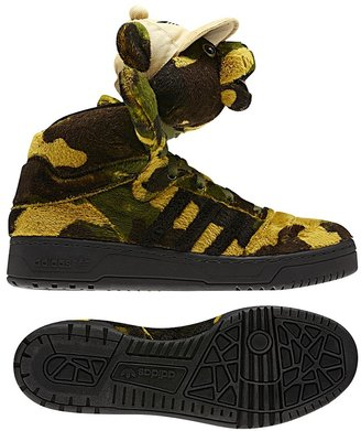 Jeremy Scott Camo Bear Shoes