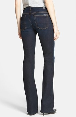 7 For All Mankind 'Kimmie' Bootcut Jeans (Slim Illusion Dark Blue)