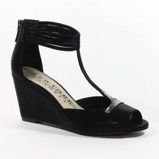JLO by Jennifer Lopez New york transit joy's way t-strap wedge sandals - women
