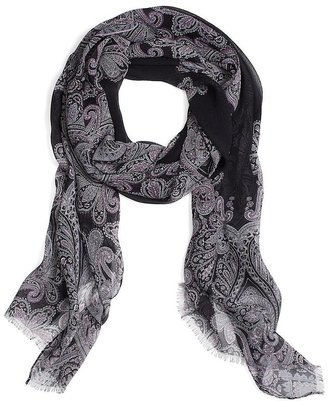 Brooks Brothers Crinkled Paisley Oblong