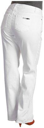 MICHAEL Michael Kors Plus Size Jewels Basic Sausalito Jean (White) - Apparel