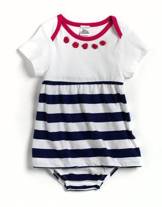 SAM & GEORGE Newborn Girls 0-9 Months Two-Piece Dress