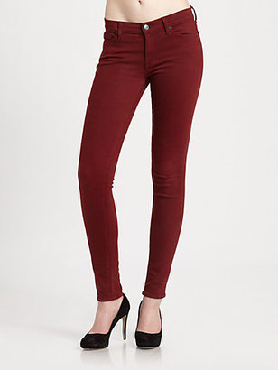 7 For All Mankind The Slim Illusion Twill Skinny Jeans