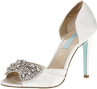 Blue by Betsey Johnson Women's Gown Pump $50.98 thestylecure.com