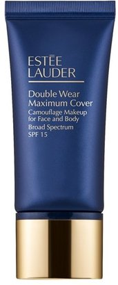Estee Lauder Double Wear Maximum Cover Camouflage Makeup For Face And Body Spf 15 - Cream Vanilla Light/medium $42 thestylecure.com