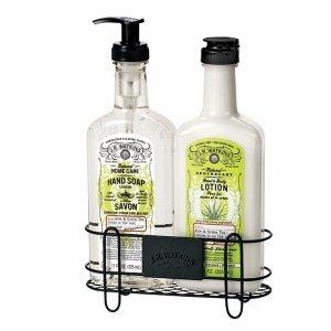 JR Watkins Body Lotion & Hand Soap Sink Set, Aloe & Green Tea
