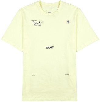 Oamc Logic Printed Cotton T-shirt