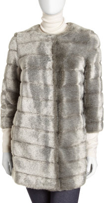 Sam Edelman Mod Faux-Fur Coat