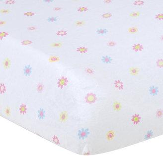Gerber Flower Bassinet Sheet