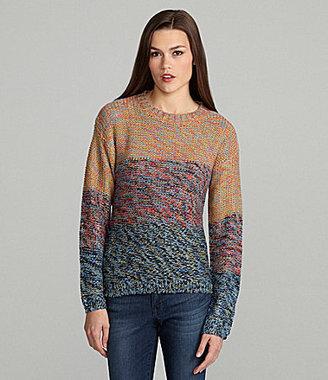 Lovemarks Colorblock Striped Sweater