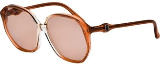 Yves Saint Laurent Vintage oversized sunglasses