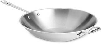 """All-Clad Stainless Steel 14"""" Stir Fry"""""""