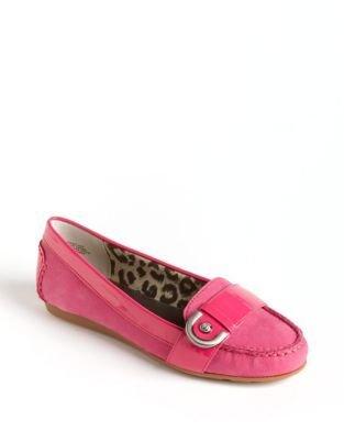 Circa Joan & David Greenland Leather Loafers