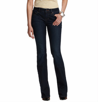 LOFT Curvy Boot Cut Jeans in French Indigo Wash