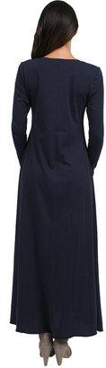 Tysa Perfect Thumbhole Dress in Navy