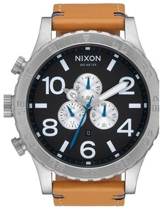 Men's Nixon 'The 51-30 Chrono' Watch, 51Mm $375 thestylecure.com
