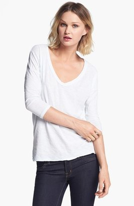 James Perse Relaxed Fit V-Neck Tee