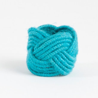 Saro Braided Jute Napkin Ring