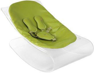 Bloom Coco Lounger - Transparent Plexistyle - Henna Brown Seat Pad