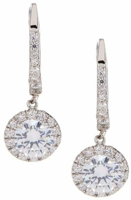 80547fa91 Nordstrom Rack Round Pave CZ Euro Drop Earrings