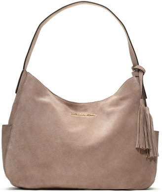 MICHAEL Michael Kors Large Ashbury Suede Shoulder Bag