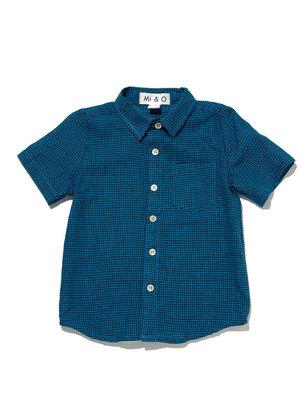 MIO Check Button-Up Shirt