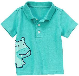 Gymboree Hippo Polo Shirt