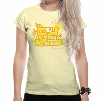 Wilson Loud Distribution Brian God Only Knows Women's T-Shirt Yellow X-Large