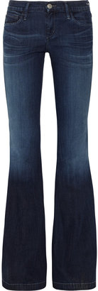 Gold Sign Virginia low-rise flared jeans
