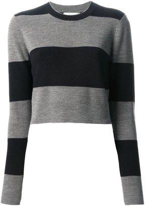 A.L.C. Striped Cropped Sweater