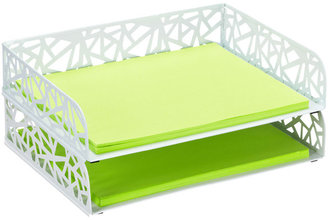 Container Store Network Stacking Letter Tray