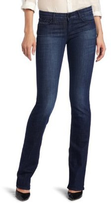 Habitual Women's Gryphon Mini Boot Cut Jean in Parrot
