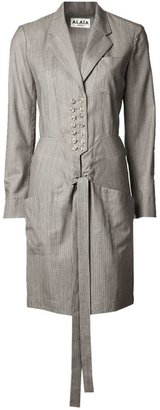 Alaia Vintage tailored shirt dress