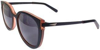Rachel Comey RCxPrism Collaboration Black Sunglasses