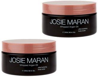 Josie Maran Whipped Argan Body Butter Duo Vanilla Apricot & Sweet Citrus