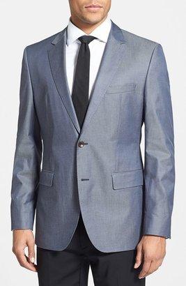 HUGO BOSS 'The Keys' Trim Fit Cotton Blazer
