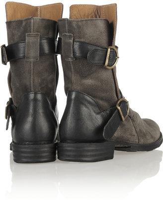 Fiorentini+Baker Fiorentini & Baker Eternity suede biker boots