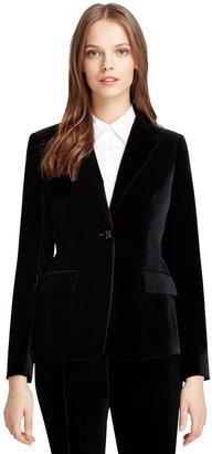 Brooks Brothers Milano Fit Velvet Jacket