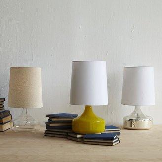 west elm Perch Glass Lamp